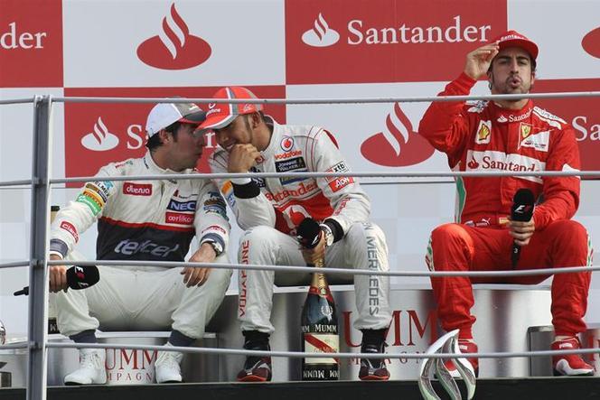 F1 GP d'Italie : Hamilton domine, Perez confirme, Alonso engrange