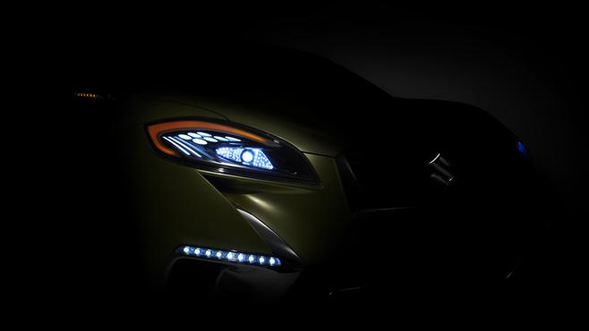 Guide des stands Mondial 2012 : Suzuki avec un concept de crossover