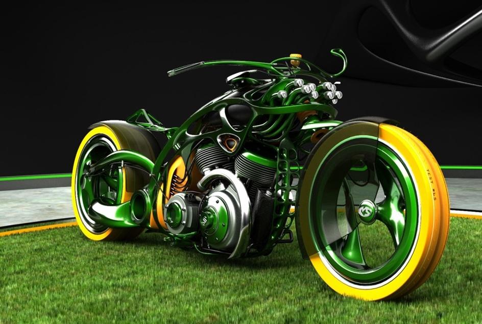 Insolite : l'organic bike concept
