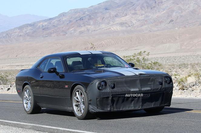 Surprise : la Dodge Challenger se refait une beauté