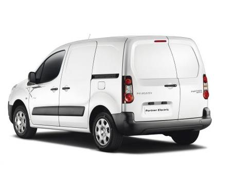 Peugeot sort son Partner électrique
