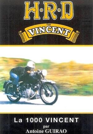 Ma moto HRD 1000 Vincent: le livre réédité.