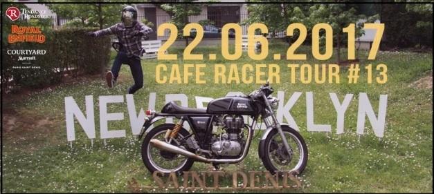 Café Racer Tour Royal Enfield: rendez-vous ce soir à 18h30