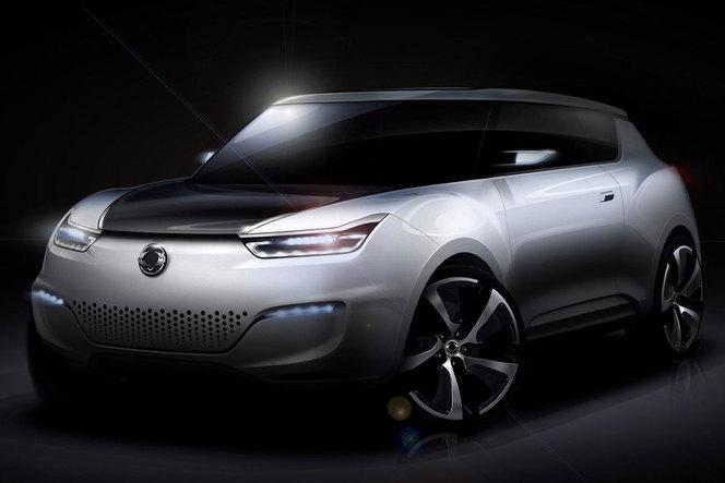 Mondial de Paris 2012 - Ssangyong e-XIV Concept