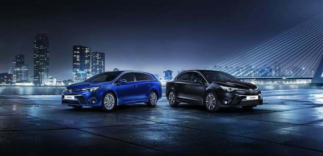 Genève 2015 : Toyota annonce ses Avensis restylées