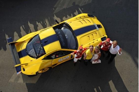 Ferrari 599XX EVO pour Benjamin Sloss