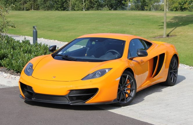 McLaren MP4-12C: un nez nouveau en option? [MàJ]