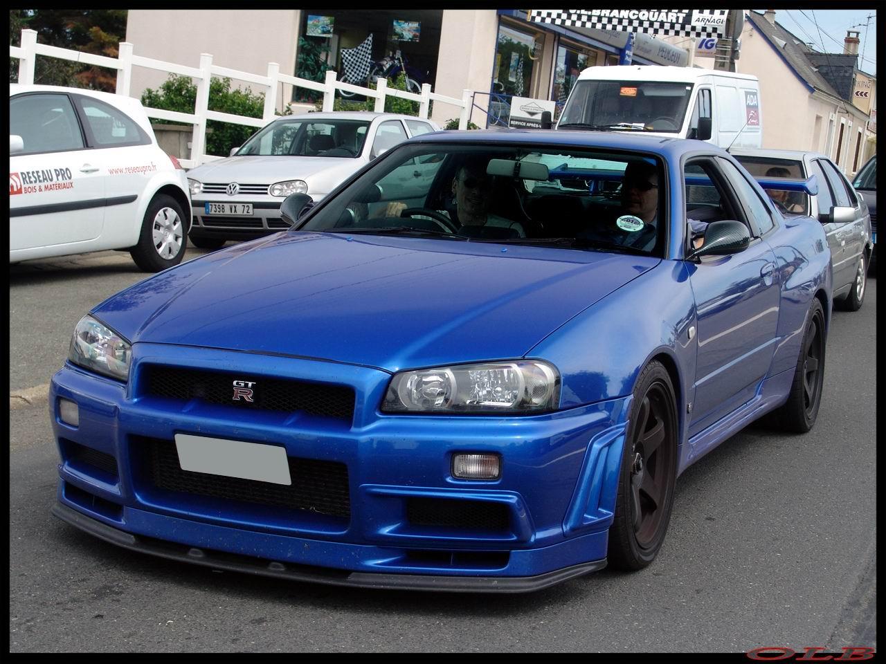 La Photo Du Jour Nissan Skyline R34 Gt R