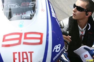 Moto GP - Allemagne D.1: Lorenzo mécontent de sa forme et de l'offre de Yamaha