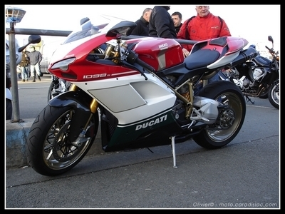Photos du jour : Ducati 1098S Tricolore [14 photos HD]