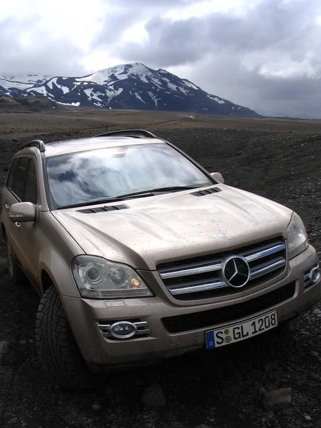 Mercedes GL : essai en Islande, jour 2