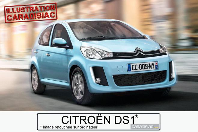 Une DS1 pour Citroën en 2014 !