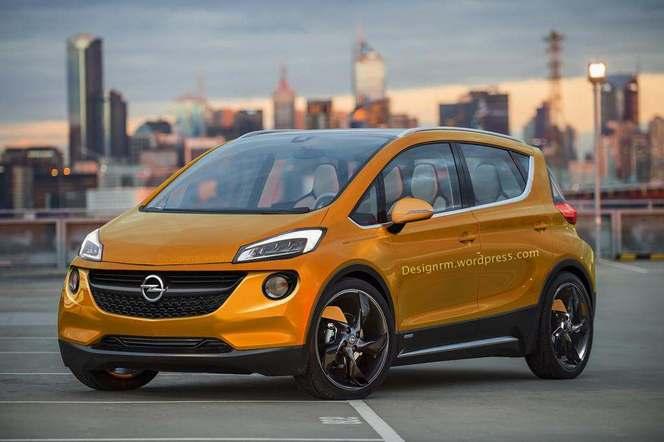 Un graphiste imagine la future citadine électrique d'Opel