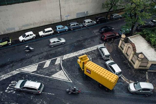 Insolite: Lego joue l'égal sur la route