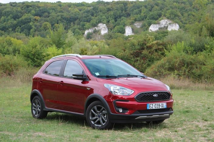 Essai vidéo - Ford KA+ restylée : le low cost premium