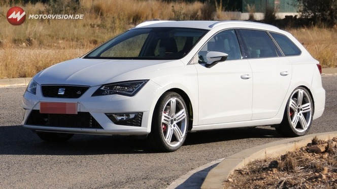 Surprise : la future Seat Leon Cupra fait le break