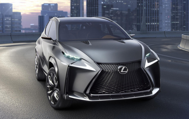 Lexus valide l'arrivée en série du LF-NX