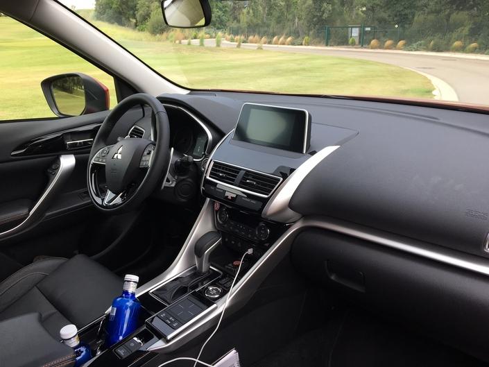 Mitsubishi Eclipse Cross : les premières images de l'essai en live + impressions de conduite