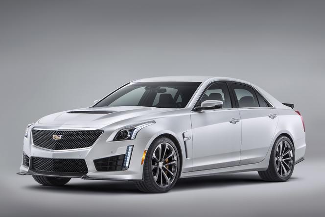 Salon de Genève 2015 –  Cadillac ATS-V & CTS-V, Allemagne en vue