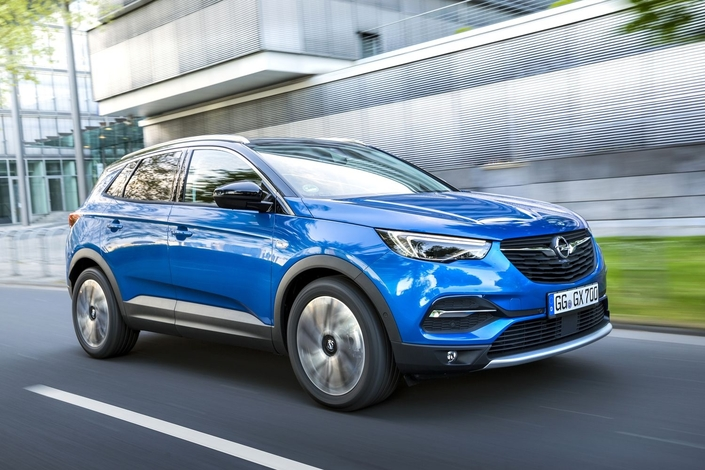 Opel annoncele prix de base du Grandland X: 25600€