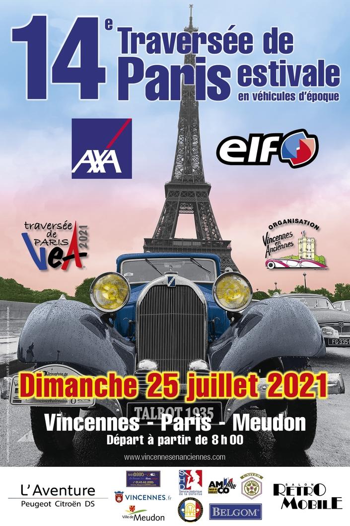 Route nuit - Ce dimanche, les voitures anciennes prennent le pouvoir à Paris !