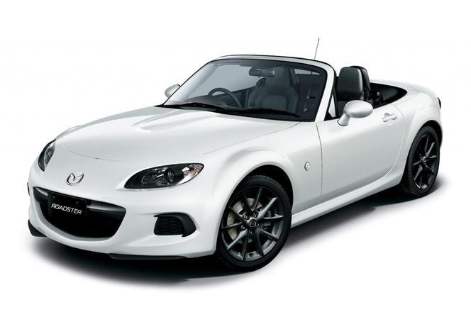 Toutes les nouveautés du Mondial 2012 - Mazda MX-5 restylée : éternelle