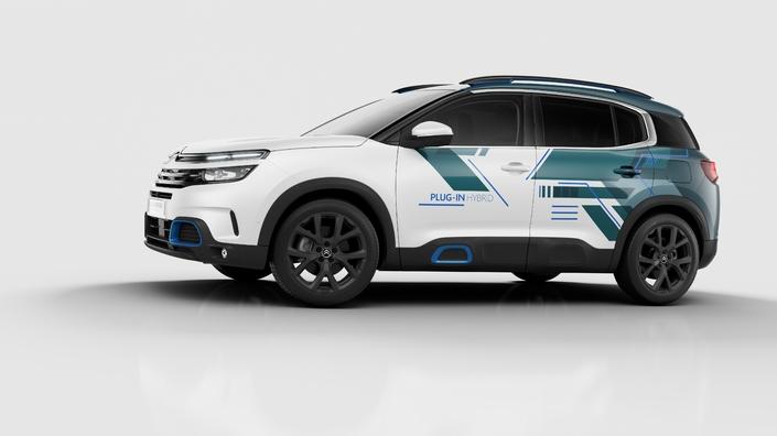 Mondial de Paris 2018 - Citroën: le C5 Aircross en hybride rechargeable
