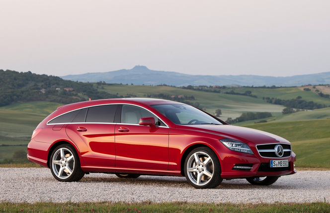 Toutes les nouveautés du Mondial 2012 - Mercedes CLS Shooting Brake :pionnier
