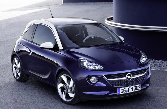 Toutes les nouveautés du Mondial 2012  - Opel Adam: hommage