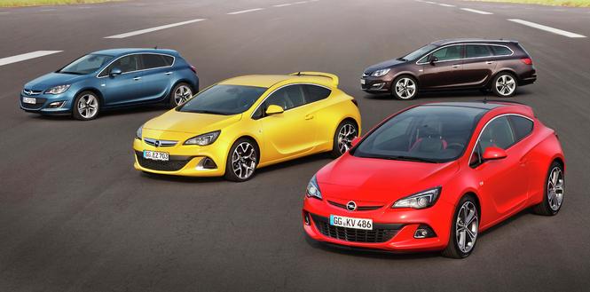 Toutes les nouveautés du Mondial 2012 - Opel Astra restylée : retouches