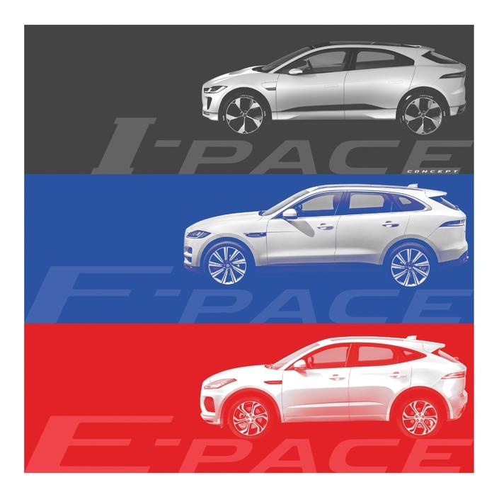 Jaguar tease son SUV compact E-Pace