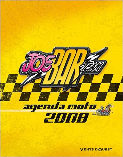 Idée cadeau : Agenda Joe Bar Team 2008