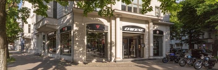 Dainese: ouverture à Berlin d'un nouveau concept store