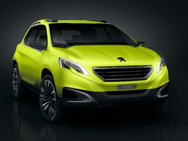 Mondial 2012 : Peugeot 2008 Concept