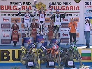 Motocross mondial : Musquin gagne la 2ème manche et prend la tête du championnat
