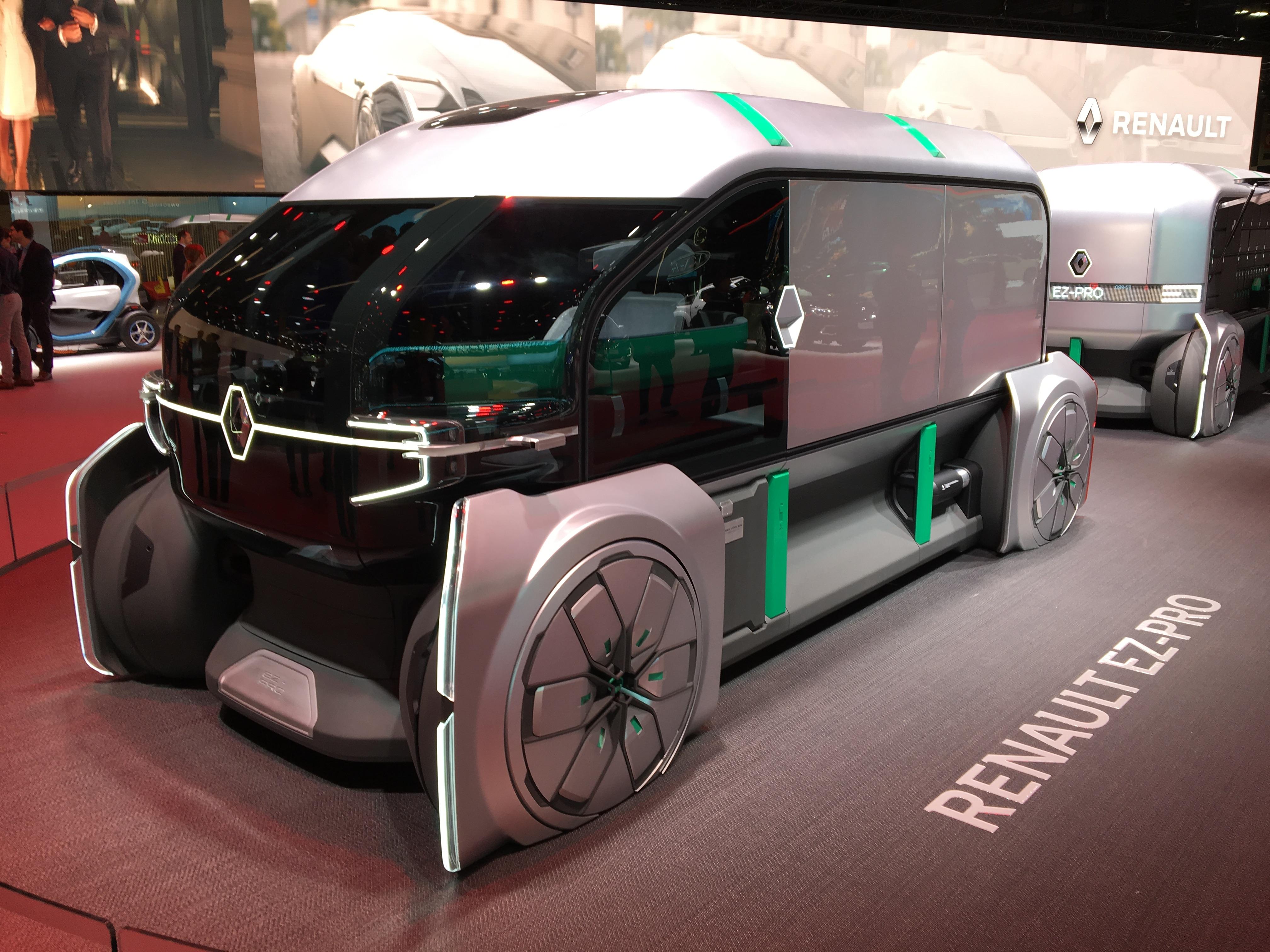 Renault Ez Pro Concept La Livraison De Demain En Direct Du