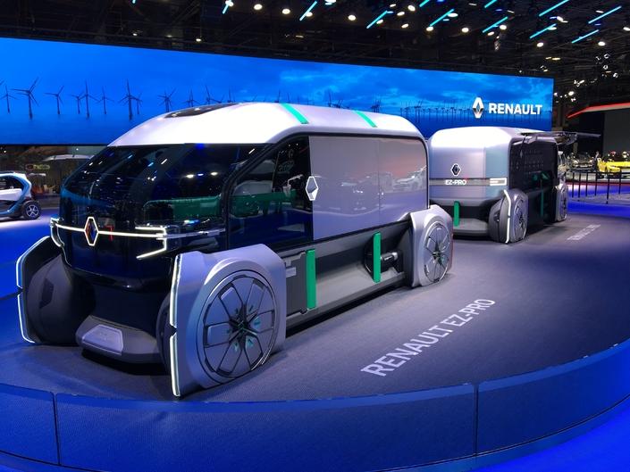 Renault EZ Pro Concept : la livraison de demain - En direct du Mondial de l'Auto 2018