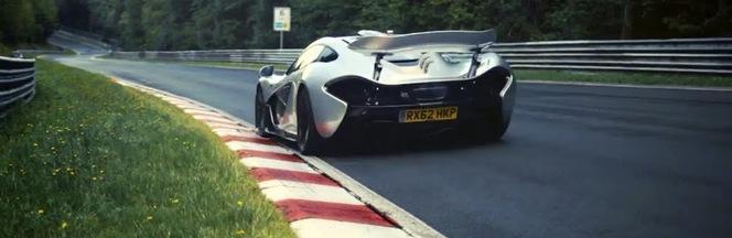 Ring Folies en vidéo : la McLaren P1 sous les 7 mn. Il paraît