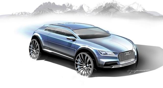 Détroit 2014: Audi présentera un concept SUV préfigrant le prochain TT!