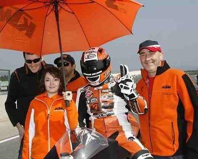 Superbike - France: KTM s'installe en tête du Top Twin