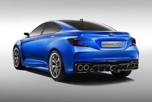 Voici le concept qui a annoncé la dernière Subaru WRX.