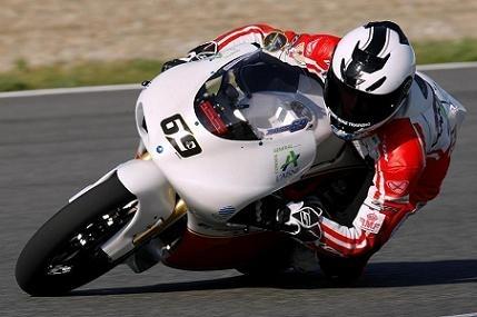 Louis Rossi s'envole pour son premier GP sur la 125 Aprilia