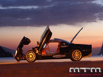 La Spyker C8 Double 12 S passe entre les mains de MTM