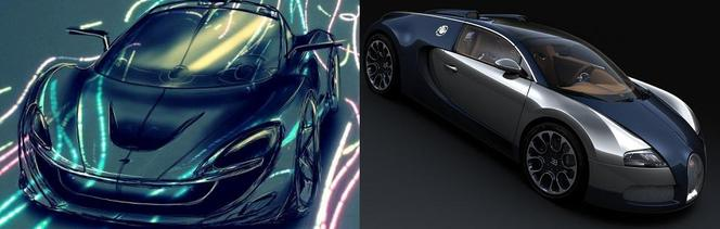 Match du Mondial : McLaren P12 ou Bugatti Veyron ?