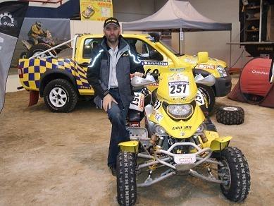 Antoine Morel s'active pour le Dakar