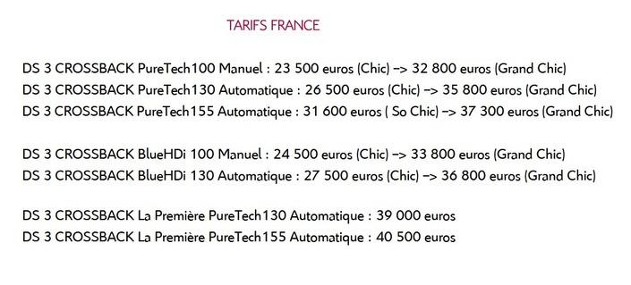DS 3 Crossback : premium à la française - En direct du Mondial de l'auto 2018
