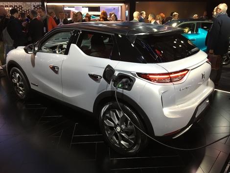 Avec 50 kWh de batterie, la E-Tense se montre compétitive.