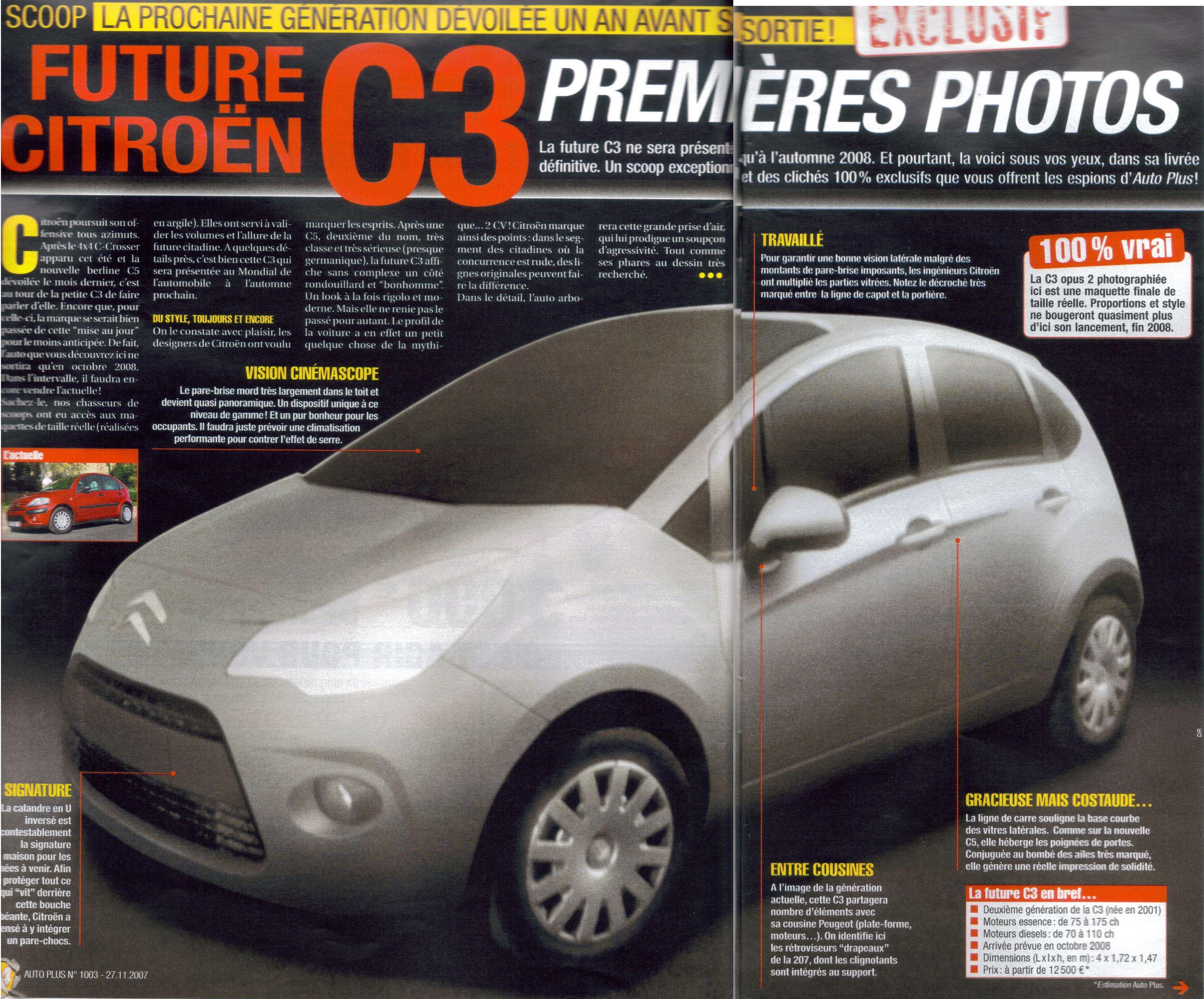 [Sujet officiel] Les photoshops de l'époque - Page 7 S0-Future-Citroen-C3-II-c-est-elle-sondages-90112