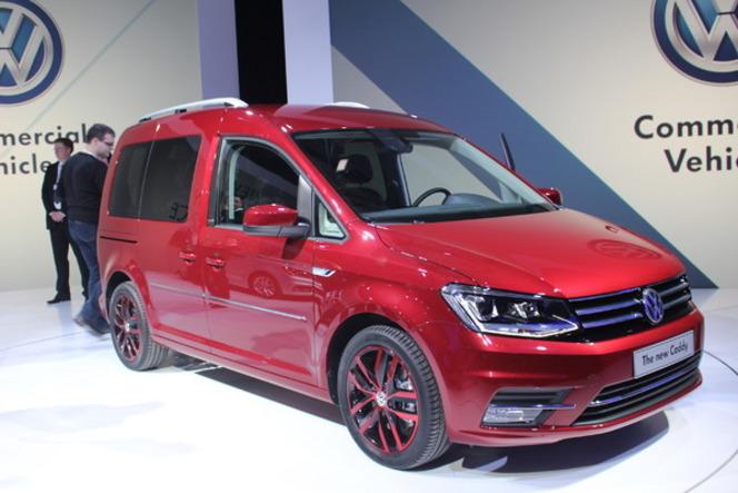 Salon de Genève 2015 - Volkswagen Caddy, ludospace équipé