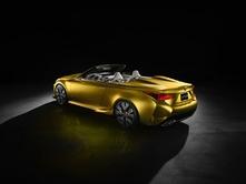 Salon de Genève 2015 - Lexus LF-C2, hypothèse de RC découvrable